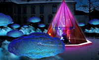 1er Water light festival of Brixen